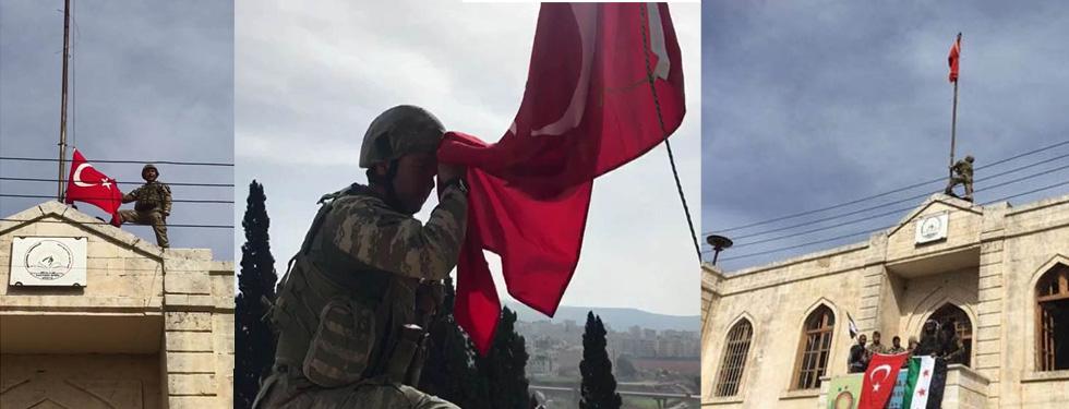 TÜRK SİLAHLI KUVVETLERİ (TSK)'DAN ZEYTİN DALI AÇIKLAMASI