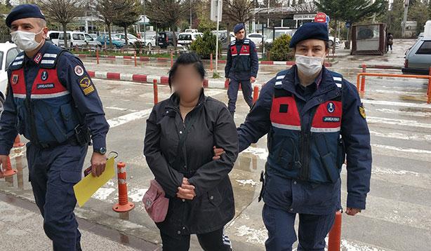 Uyuşturucu ticareti yapan kadın tutuklandı