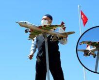 F-16 savaş uçağı yaptı, soranlar artınca satışa çıkarttı