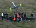 Havalimanı'ndan havalanan bir eğitim uçağı düştü