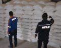 Şanlıurfa'dan Telabyad'a 53 ton un yardımı