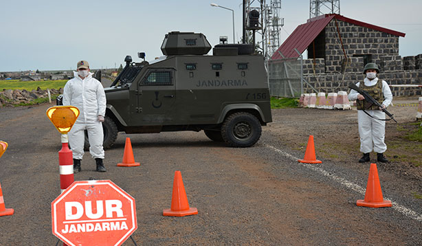 Şanlıurfa'da iki bin beş yüz nüfuslu mahalle karantinaya alındı