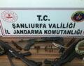Şanlıurfa'da silah ve uyuşturucu operasyonunda 14 gözaltı