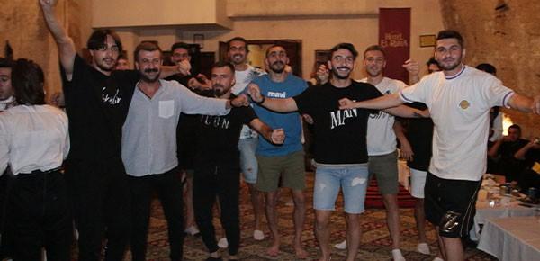 Şanlıurfaspor'dan futbolculara sıra gecesi