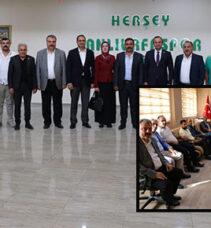 Gelecek Partisi ve İyi Partiden Urfaspor'a ziyeret