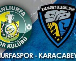 Şanlıurfaspor- Karacabey maçının hakemleri belli oldu