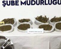 Uyuşturucu sevkiyatı polise takıldı