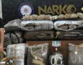 Uyuşturucu operasyonu: 218 kilo uyuşturucu ele geçirildi