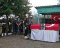 Piyade uzman çavuş, askeri törenle toprağa verildi