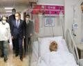 Şanlıurfa Valisi yaralı polisleri ziyaret etti