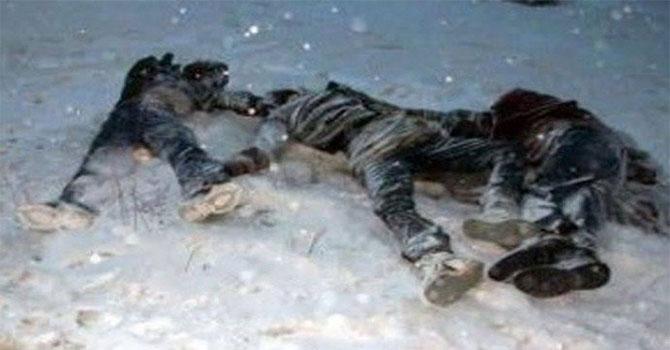 Van'da 13 göçmen donarak hayatını kaybetti