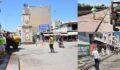 Viranşehir'de caddeler virüse karşı ilaçlanıyor
