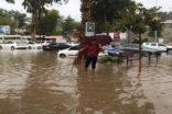 Antalya'da etkili olan yağmur hayatı olumsuz etkiledi
