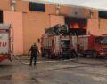 Şanlıurfa'da tekstil fabrikasında yangın