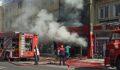 Mağaza yanarak kül oldu