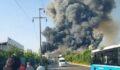 Fabrikada yangın