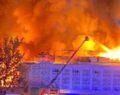 Otel yangını: 1 ölü, 10 yaralı