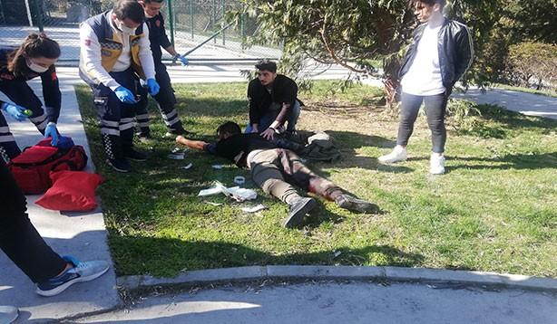 İstanbul'da bıçaklı kavga:1 yaralı