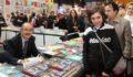 Büyükerşen kitap fuarında okurlarıyla buluştu