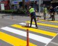 Şanlıurfa'da yol şeritleri yenilendi