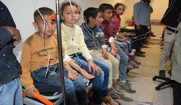 Şanlıurfa'da 50 öğrenci zehirlendi