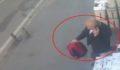 Çanta hırsızı kamerada