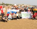 Çevre dostu gençler Kızkalesi'nde