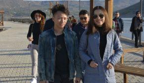 Çinli Turistler Takoran'a hayran kaldı