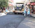 Haliliye belediyesinden demir izzet caddesinde asfalt çalışması