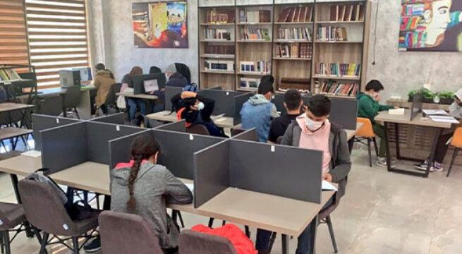 Şanlıurfa'da öğrenciler sınavlara hazırlanıyor