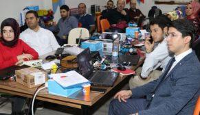 Karaköprü'de öğretmenlere kodlama eğitimi