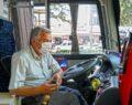 Özel halk otobüsü esnafına 25 milyon lira destek