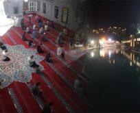 Peygamberler şehri Şanlıurfa'da Kudüs için dualar edildi