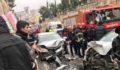 Şanlıurfa'da iki otomobil çarpıştı: 2 yaralı