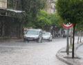 Boş cadde ve sokaklar göle döndü