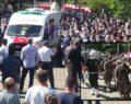 Şehit düşen polis memuru için tören düzenlendi