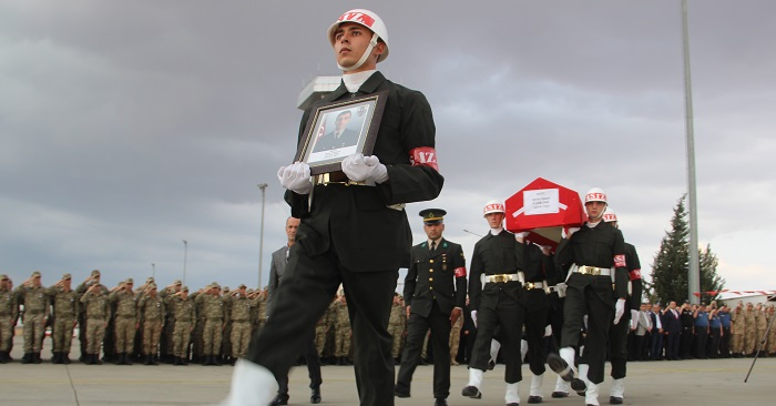Şehit Piyade Uzman Onbaşı memleketine uğurlandı