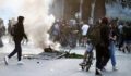 Öğrenciler 24 kuruş için Şili'yi yaktı