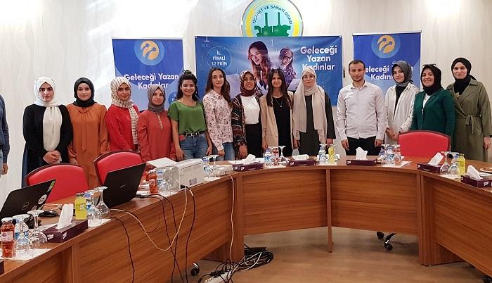 ''Geleceği Yazan Kadınlar'' Projesi finali Şanlıurfa'da