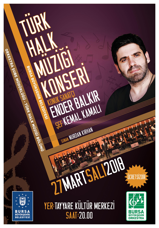 Bursa Büyükşehir Belediyesin'den konser etkinliği