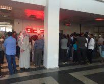 Hastane kuyruğu Suriye sınırını andırıyor