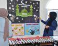 Kur'an kursu öğrencileri eserlerini sergiledi