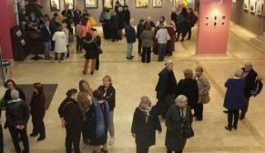 Ankara kadın ressamlar derneği resim sergisi açıldı