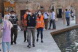 Şanlıurfa'da drone'lı maske denetimi