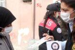 Polis, Suriyeli kadınlara KADES'i anlattı