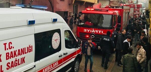 Şanlıurfa'da korkutan ev yangını