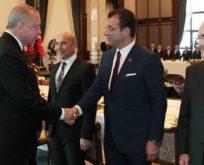 Cumhurbaşkanı Erdoğan başkanlar ile bir araya geldi