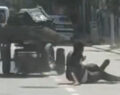 Kontrolden çıkan at arabasının altında kaldı