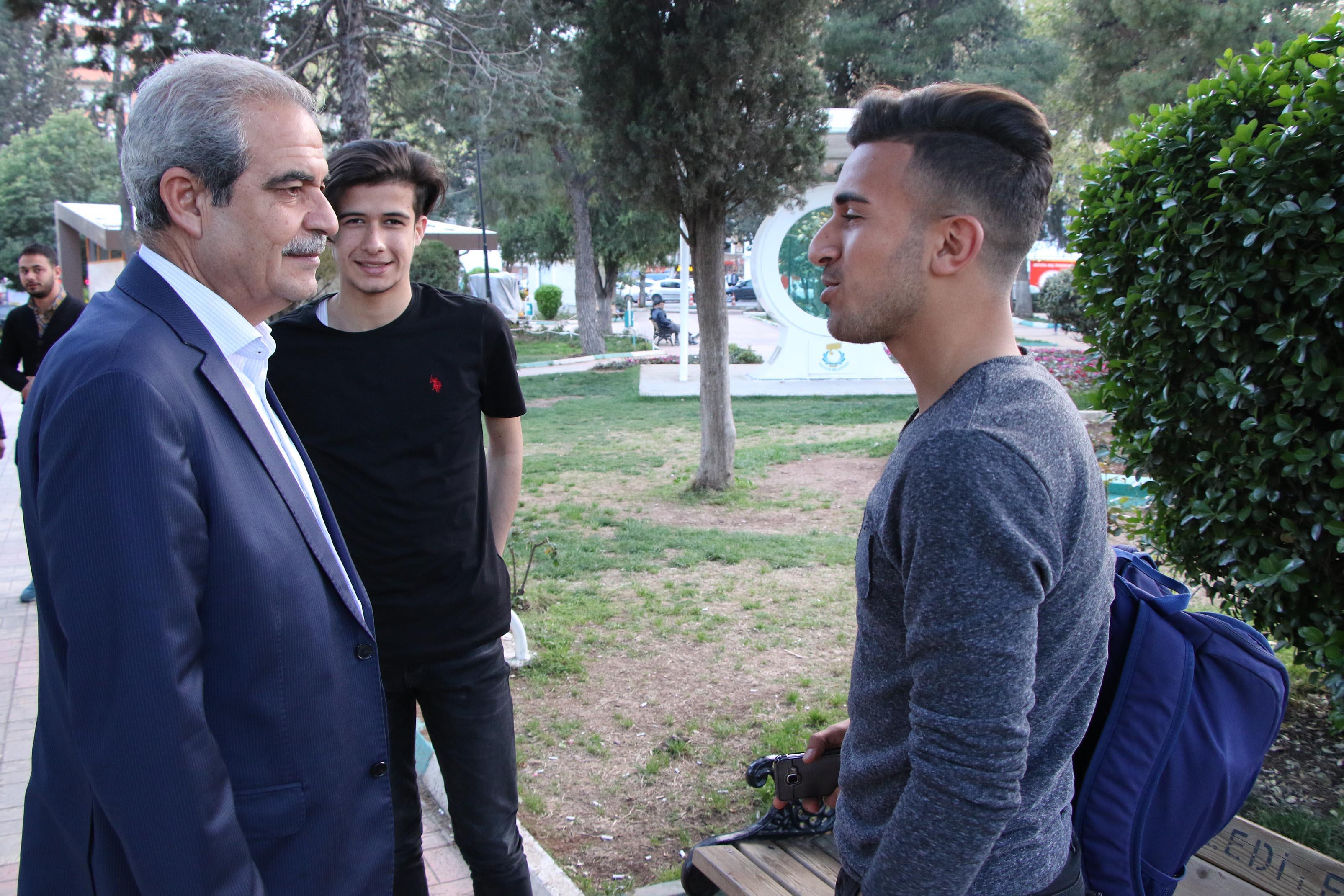 Başkan demirkol,Vatandaşlarla bir araya geldi