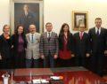 Baro yönetiminden Büyükerşen'e ziyaret